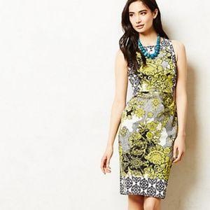 Anthropologie Weston Wear AURES Floral Shift Dress